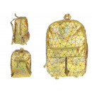 wholesale Backpacks: Backpack holographic geometric pattern ...