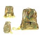 Holografikus hátizsák 1 zsebbel 28x24x10 cm gonosz