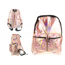 Holographic backpack with 2 pockets 40x30x16 cm