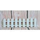 wholesale Garden & DIY store: Fence, garden fence plastic white 12.5x50 cm