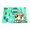 Pad sulla scrivania pinguini A3 - 1 pezzo