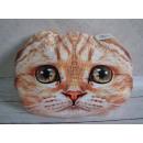 grossiste Coussins & Couvertures: coussin tête de chat 40x30 cm 400g