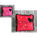 Kussen houdt van je rode valentijn 35x32 cm