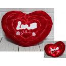 Párná kabalája szív piros plüss szerelem Szent