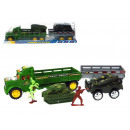 wholesale RC Toys: A military vehicle with a army group trailer and t