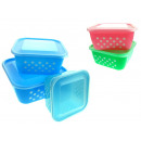 wholesale Houshold & Kitchen: Plastic containers  for storing square peas