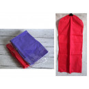 wholesale Travel Accessories: Cover for one-color clothes 98x40 cm