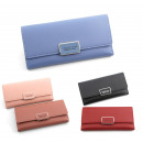 wholesale Shirts & Blouses: Women's wallet, youth mix, 19x9.5 cm color