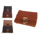 wholesale Bags & Travel accessories: Women's wallet with gold clip 11x8 cm a06-sk