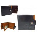 nagyker Táskák és utazási kellékek: Férfi pénztárca zsebével 10x12 cm-es keverékhez