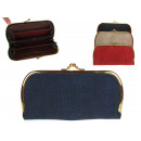 Wallet, women's purse with a 20x9,5 cm clip (i