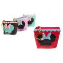 groothandel Portemonnee's: Portemonnee,  make-up tas 9x8 cm mix van ontwerpen