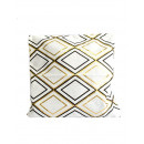 wholesale Cushions & Blankets: duvet cover on a white, blue and gold pillow 42x4