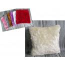 copri piumini per un cuscino peloso mix di colori