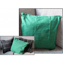 wholesale Cushions & Blankets: duvet cover on green pillow 48x48 cm