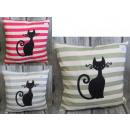 duvet cover for a pillow, striped kittens 40x40 cm