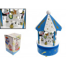 wholesale Toys: Carousel with carriage 11x20 cm
