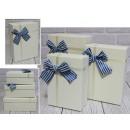Set di 3 scatole regalo rettangolari