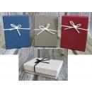 Großhandel Geschenkartikel & Papeterie: Rechteckige Geschenkbox mit geprägtem Bogen