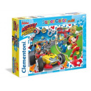 groothandel Puzzels: Puzzel 104 maxi element - Mickey & de roadster