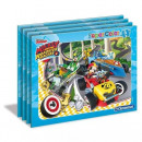 wholesale Toys: Puzzle 15 frame element Mickey & the roadster