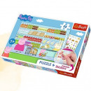 wholesale Licensed Products: Puzzle 35 plus  Peppa Pig sticker for shopping