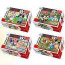 Großhandel Lizenzartikel: 54 Mini Puzzles - Mickey Maus