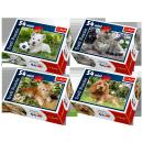 grossiste Puzzle: 54 Mini Puzzles - animaux mignons clubs