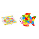 Puzzle en bois, 26 lettres puzzle poisson 24x20