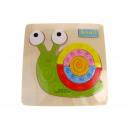 wholesale Wooden Toys: Wooden snail puzzle (15x15 cm)