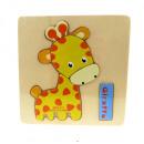 wholesale Wooden Toys: Wooden horse  puzzle, horse (15x15 cm)