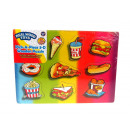 Puzzle, jigsaw puzzle, wooden food 29.5 x 22 cm