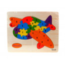grossiste Jouets: Puzzle, puzzle puzzle avion 22.5x18 cm