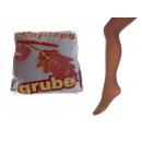 Großhandel Strümpfe & Socken: Transparente Strumpfhose dick beige Größe 3