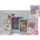 wholesale Make-up Accessoires: Frames 2 pieces + mirrors 2 pastel pieces (25x2