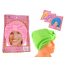 wholesale Bath & Towelling: hair towel smooth universal mix color