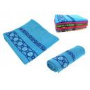 wholesale Bath & Towelling: towel bath 100x50 cm pattern mix color - 1 item