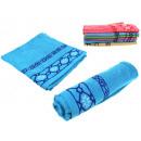 wholesale Bath & Towelling: towel bath 140x70 cm pattern mix color - 1 item