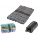 asciugamano strisce bagno 135x68 cm - 1 articolo