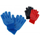 wholesale Cleaning: Winter gloves with rubber balls 18 cm