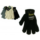 wholesale Gloves: One color  multicolor gloves 19 cm thick