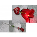 wholesale Batteries & Accumulators: Rose in foil with sound and light 40.5x7 cm