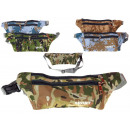 wholesale Miscellaneous Bags: Belt pouch, camo 33x10 cm