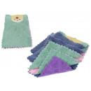Tissu, tissu, serviette 25x16 cm - complet