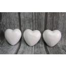 Styrofoam szívek 10cm-es készlet 3 db