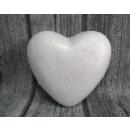 Szív polisztirol 19 cm