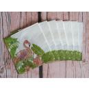 Fenicotteri di carta con tovaglioli 33x33 cm 20 pe