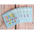Tovaglioli di carta per neonato 33x33 cm 20 pezzi
