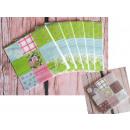 wholesale Table Linen: Napkins paper patchwork 33x33 cm 20 piece