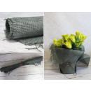 Virágos háló 83x60 cm palackozott zöld